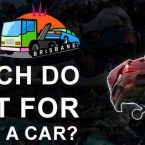 How much do you get for scrapping a car by scrap car buyers?